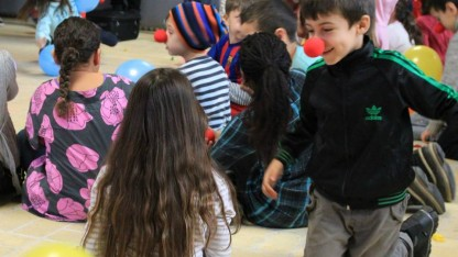 Børn fik vinterferieminde med Danmission Unge