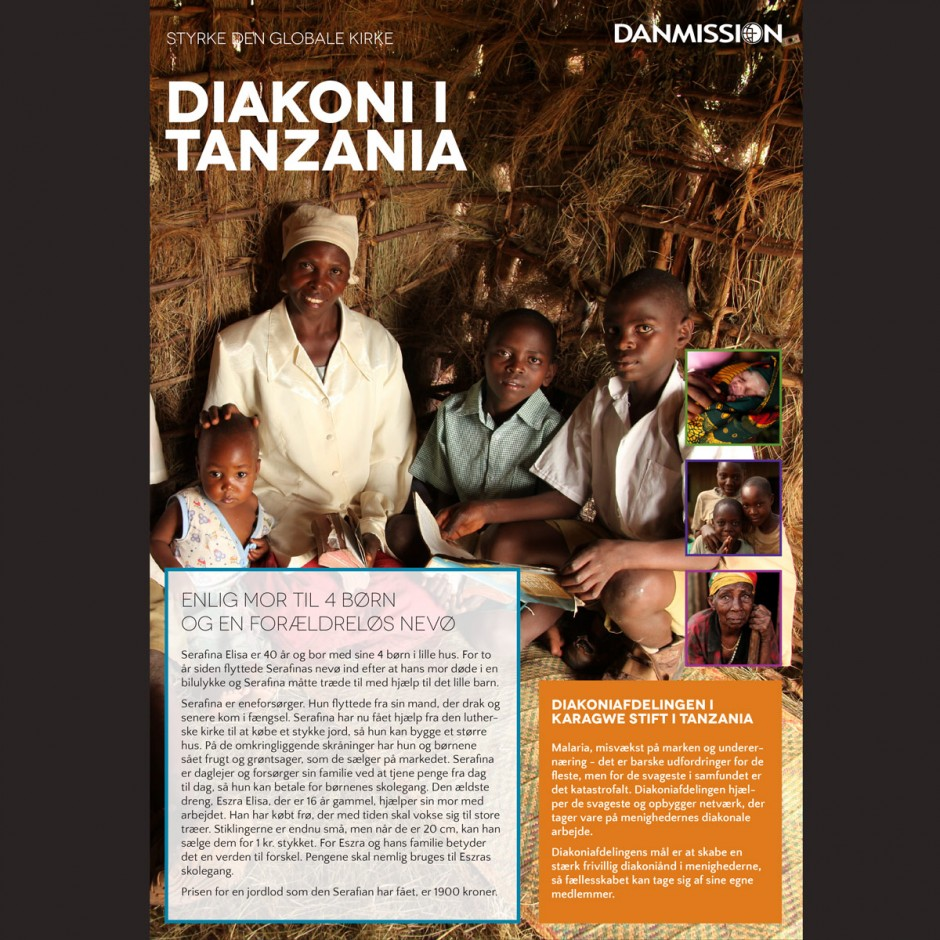 Projektark, Diakoni i Tanzania