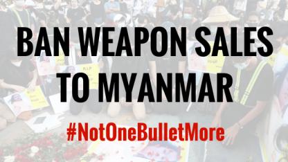 Danmission går ind for våbenembargo mod Myanmar