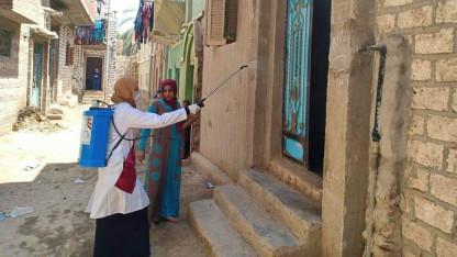 Danmission, dialog og desinfektion går hånd i hånd i Egypten