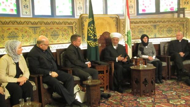 Dansk delegation møder religiøse ledere i Mellemøsten