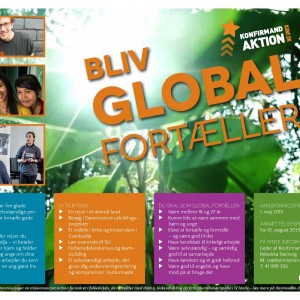 Bliv Global Fortæller - søg inden 1. maj!