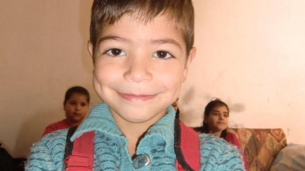 Din støtte hjælper 5-årige Mohammad i Syrien