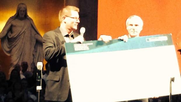 190.188 kroner kom der ind fra Gospel Aid