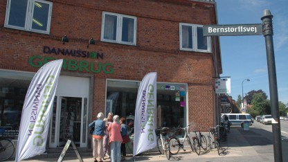Ny genbrugsbutik! Et frø er plantet i Hellerup
