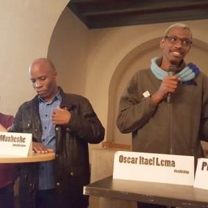 Kolleger fra Engesvang og Tanzania mødtes i kirken