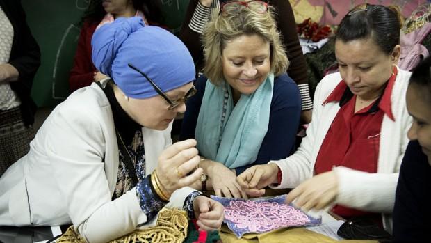 Danmission får erhvervskvinden Stine Bosse og debattøren Saliha Fetteh som ambassadører