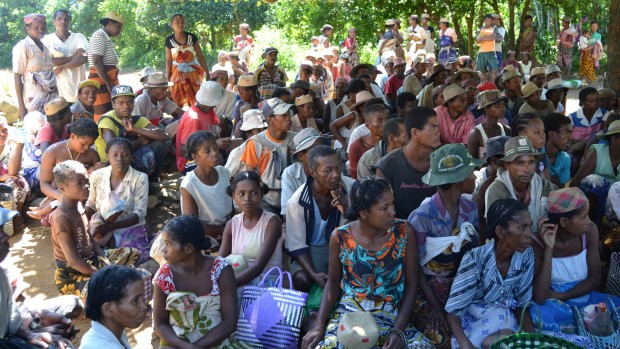 Nødhjælp til Madagaskars fattigste