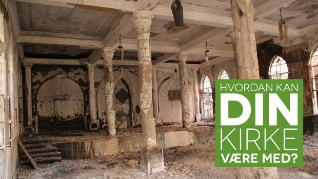 Egyptens kirker skal genopbygges