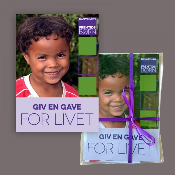 Bliv sponsor for Fremtidsbørn folder