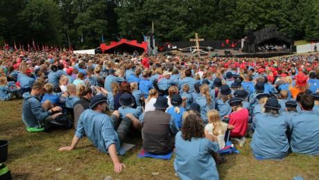 Danmission Unge er med tusindvis af FDF'ere på lejr