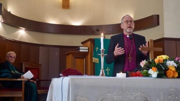 Dansk biskop og provster får ny viden i Mellemøsten