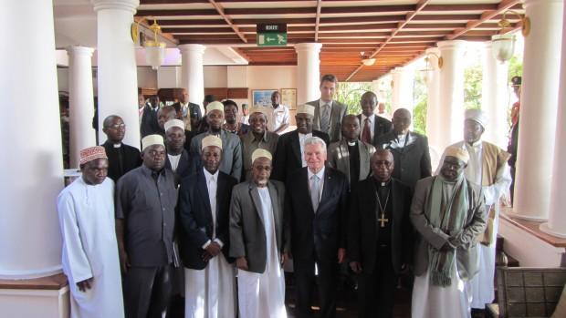 Tysk præsident anerkender dialogarbejdet på Zanzibar