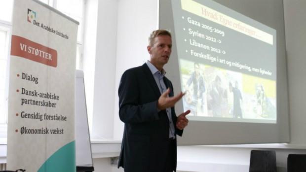 Danmarks ambassadør i Syrien, Libanon og Jordan takker af