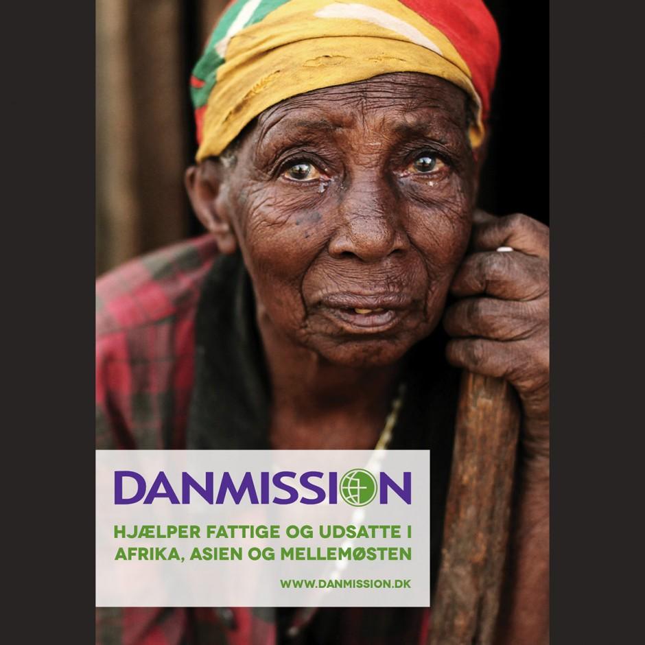 Plakat, tanzaniansk kvinde