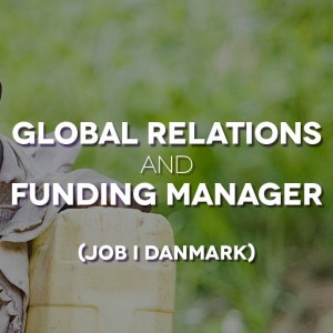 Global Relations and Funding Manager