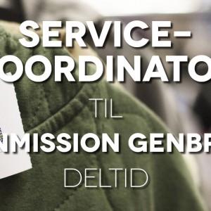 Servicekoordinator til Danmission Genbrug - deltid