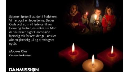 GLÆDELIG JUL FRA DANMISSION