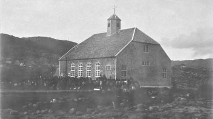 Da Grønland fik en kirke som samlesæt
