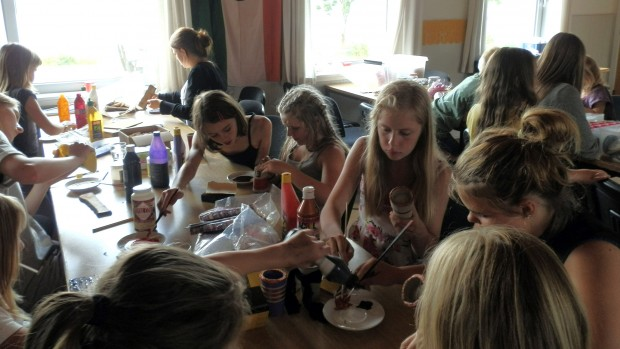 Glimt fra Kildeborg Pigelejr 2014
