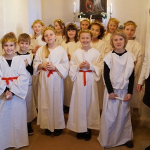 Luciadag i Skellerup Kirke