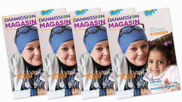 DANMISSION MAGASIN I NY INDPAKNING
