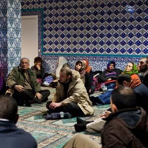 Besøg i Imam Ali Moske og IKON årsmøde d.2. april 2016