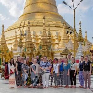 Seje frivillige tager på dialogrejse i Myanmar