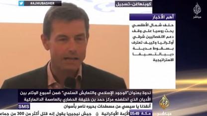 Se Nik Bredholt på Al-Jazeera