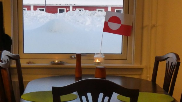 Genbrugsbutik i Tarm sælger møbler til Grønland