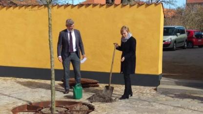 Danmissions formand og kirkeministeren plantede håb