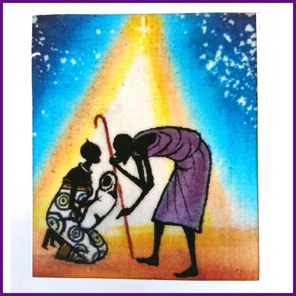 5 stk. julekort fra Tanzania