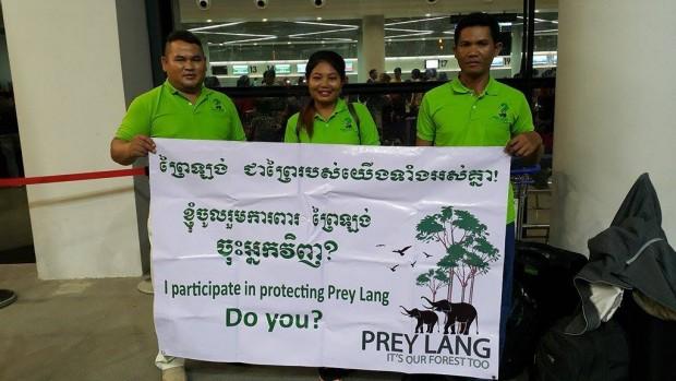 Danmissions cambodjanske samarbejdspartner modtager pris på klimatopmødet i Paris
