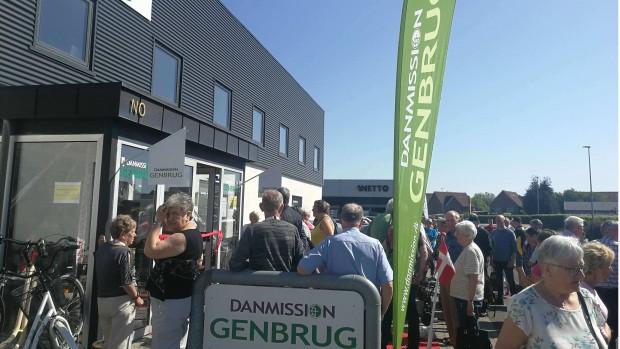 I dag åbner Danmission Genbrug ny butik i Randers