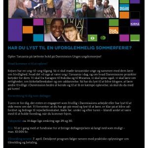 Rejs med Danmission Unge til Tanzania