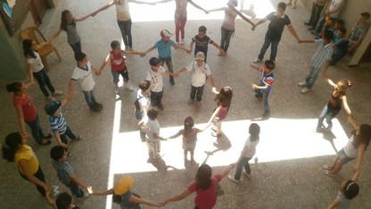 Frirum for syriske børn er en succes