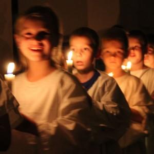 Luciagudstjeneste i Sundkirken