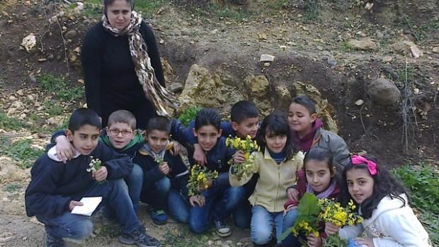 Syriens børn malede også æg i påsken