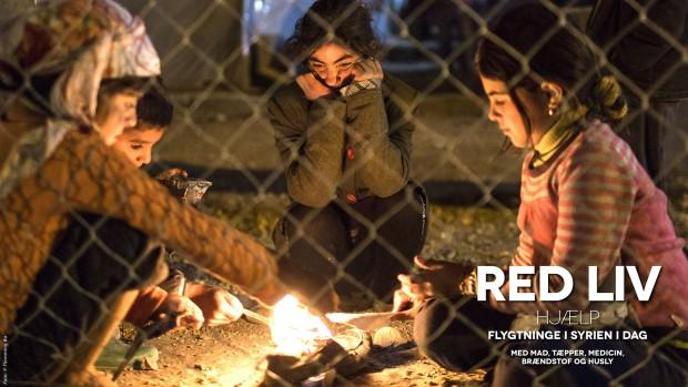 Red liv – hjælp flygtningene i Syrien i dag