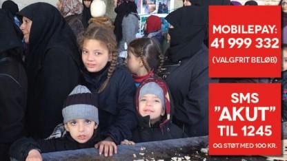 Nødråb fra Aleppo!