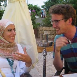 Hvorfor tage til Libanon og øve dialog?