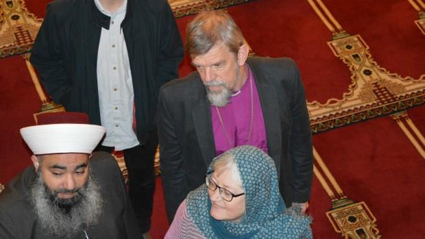 Peter Fischer-Møller på formandsrejse i Mellemøsten