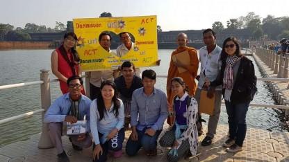 Kristne, buddhister og muslimer går sammen om at beskytte naturen i Cambodja