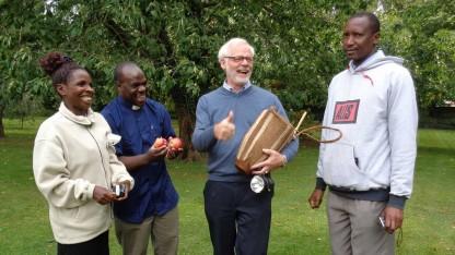 Lolland Falster har genbesøg fra Tanzania