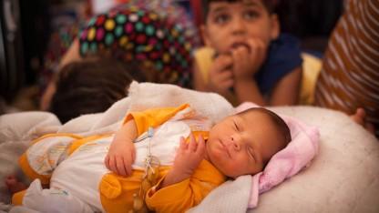 Lille Ivan er født som flygtning