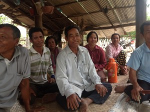 Danmissions formand, biskop Peter Fischer-Møller på projektbesøg i Cambodja