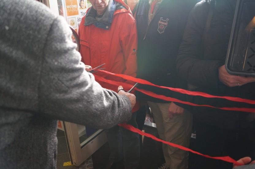 Åbning af Danmission Genbrug i Roskilde 20.2.14