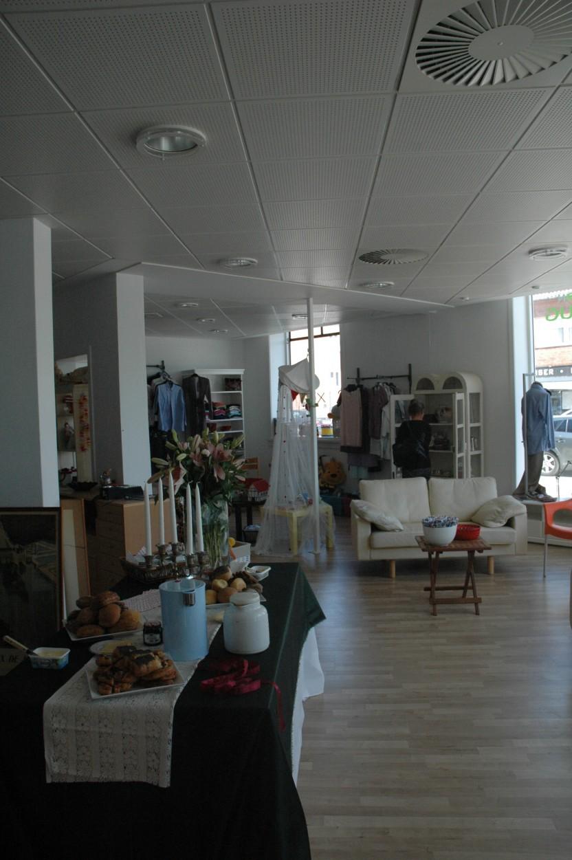 Danmissions nye genbrugsbutik i Hellerup inden åbning og klar til kunder!