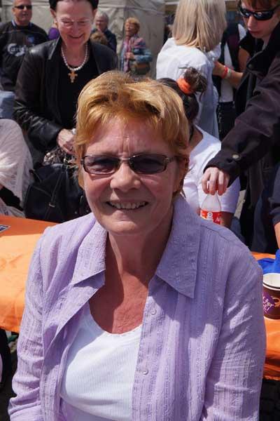 Gitte, tilskuer GospelAid 2014