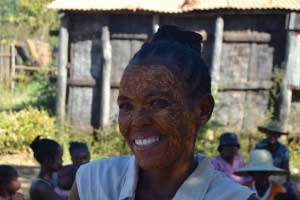 Anny og hendes 6 børn har fået nødhjælp fra Danmission